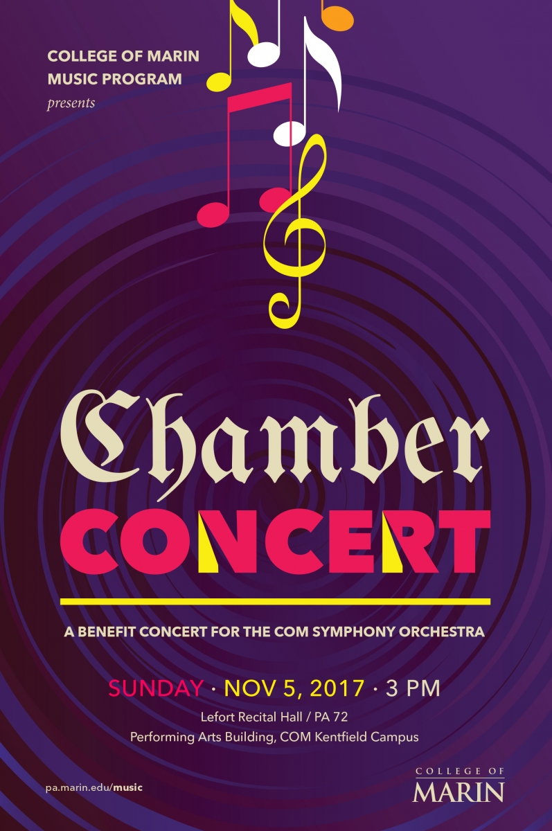 COMSO chamber concert poster