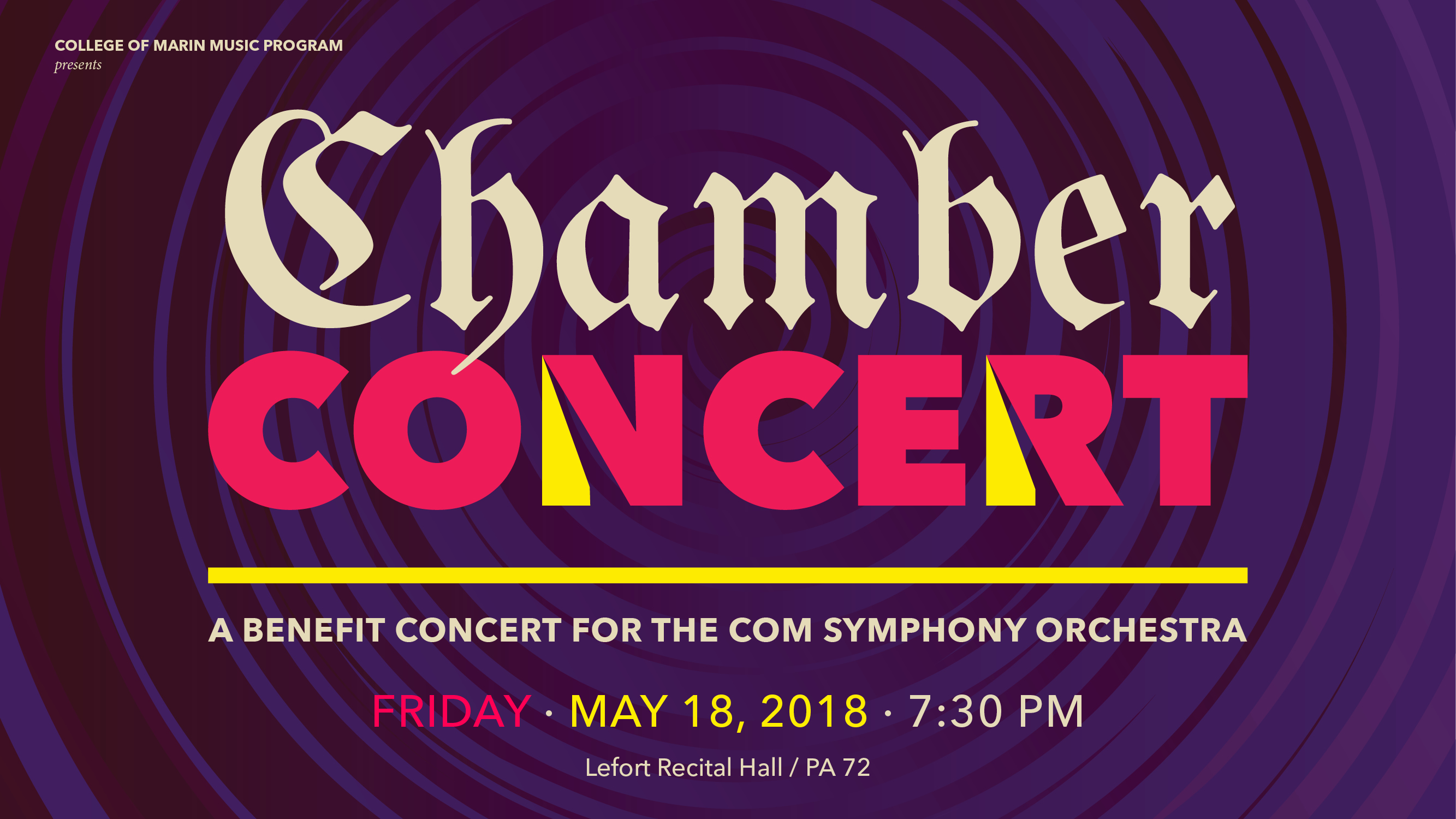 Chamber Concert header graphic