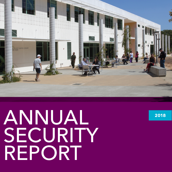 COM 2018 Annual Security Report cover